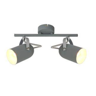 Lampa sufitowa Gray - dwa reflektory