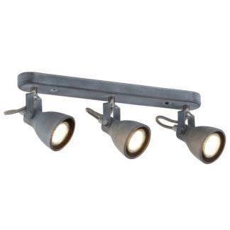 Lampa sufitowa Ash - szare reflektory