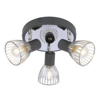 Nowoczesna lampa sufitowa Modo - 3 reflektory