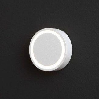 Biała oprawa schodowa Five - biała, IP54