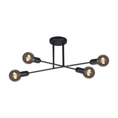 druciana lampa sufitowa industrialna