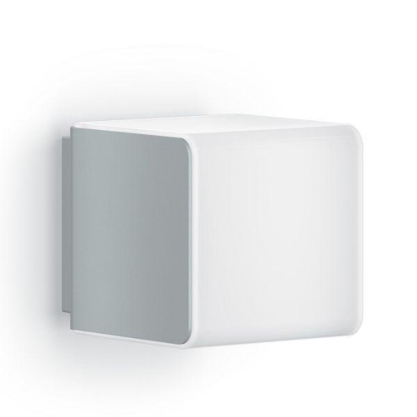 biały nowoczesny kinkiet zewnętrzny