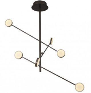 Lampa atomowa Libero LED - czarna