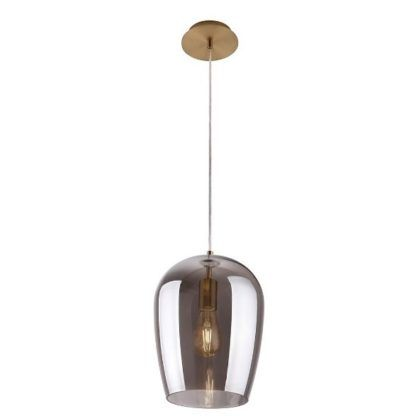 szklana lampa wisząca nowoczesna