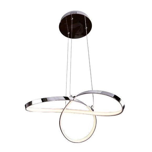 Nowoczesna lampa wisząca Infitniy - LED