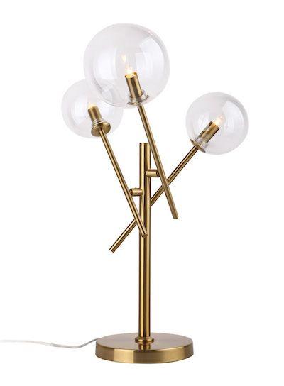 molekularna lampa stołowa