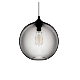 Nowoczesna lampa wisząca kula Love Bomb - szklany klosz