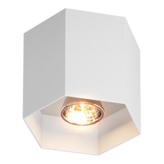 Lampa sufitowa Polygon - biała
