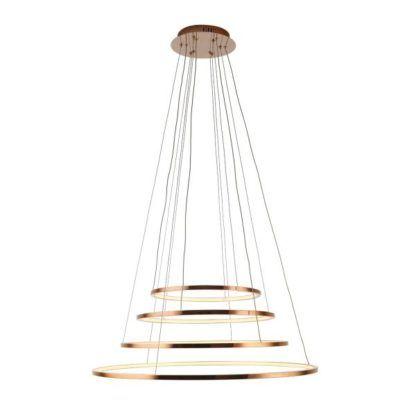 nowoczesna lampa wisząca led ringi