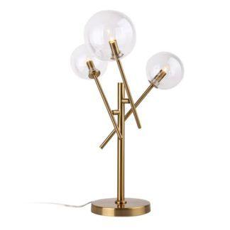 Molekularna lampa stołowa Lollipop - 3 kule