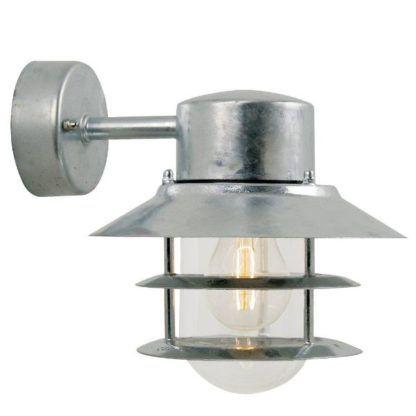 Srebrny kinkiet zewnętrzny Blokhus - Nordlux - IP54