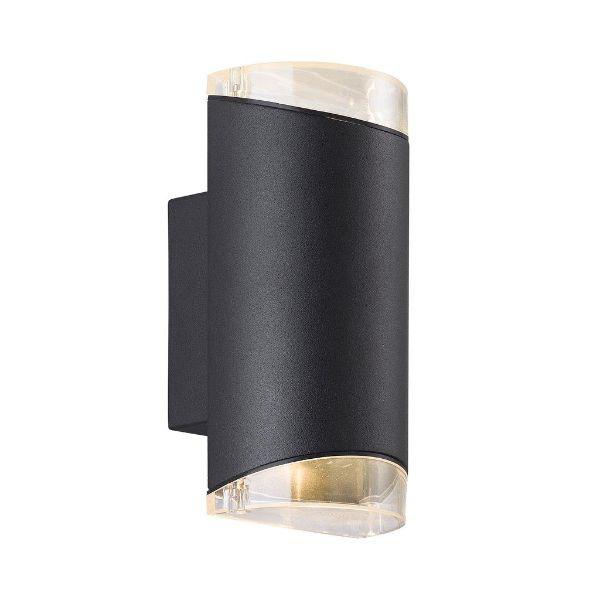 Czarny kinkiet zewnętrzny Arn - Nordlux - IP44