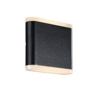 Nowoczesny kinkiet zewnętrzny Akorn 11 - Nordlux - czarny, LED, IP54
