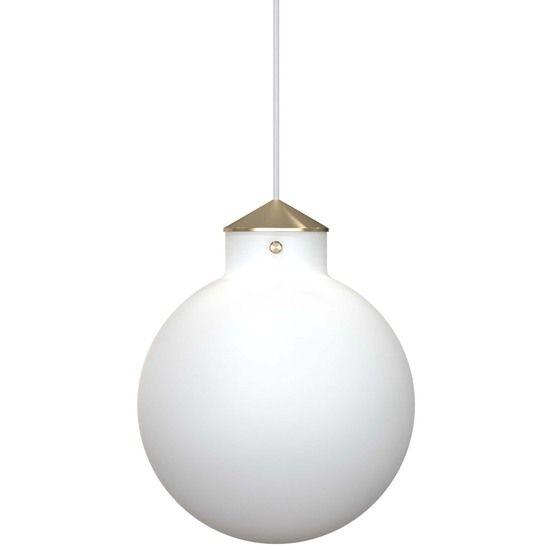 Biała lampa wisząca Raito - Nordlux DFTP - szklana