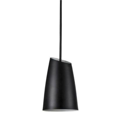 czarna lampa wisząca