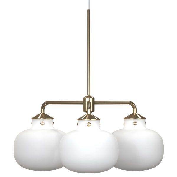 lampy z mlecznego szkła złote