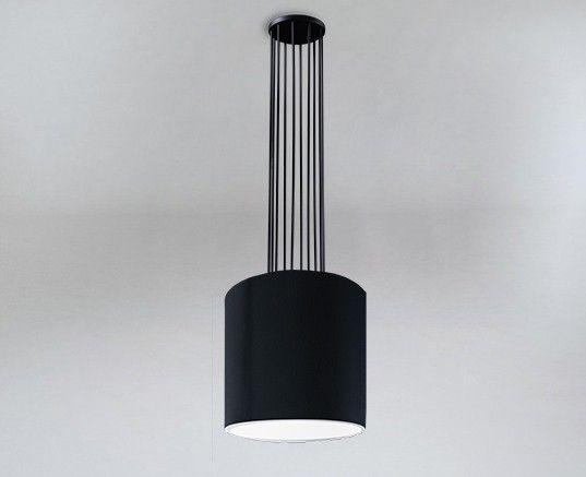 Lampa wisząca IHI druciana z czarnym abażurem