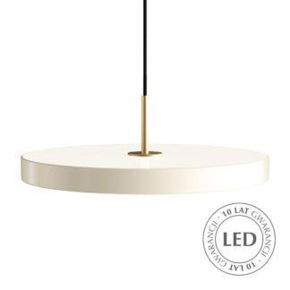 Minimalistyczna lampa wisząca - Asteria - Umage - biała