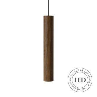 Drewniana lampa wisząca Chimes - Umage, ciemny dąb