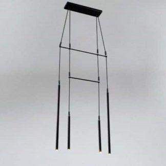 Minimalistyczna lampa wisząca Alha H Dohar - czarna