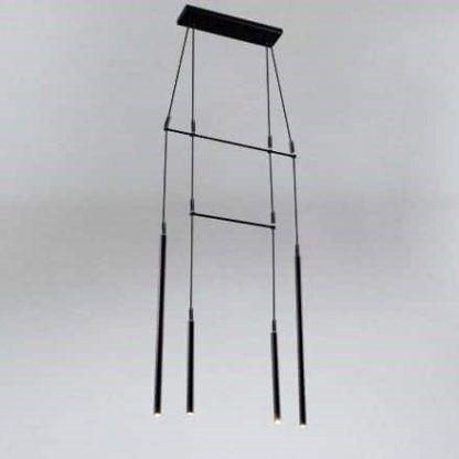 czarna nowoczesna lampa wisząca