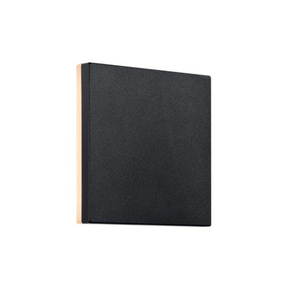 Kwadratowy kinkiet Artego Square - Nordlux - czarny, LED, IP54