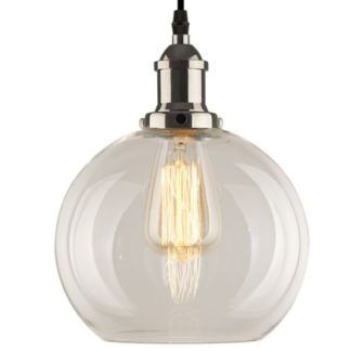 Lampa wisząca New York Loft No.2 - transparentna
