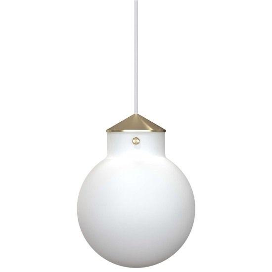 Okrągła lampa wisząca Raito - Nordlux DFTP - szklana