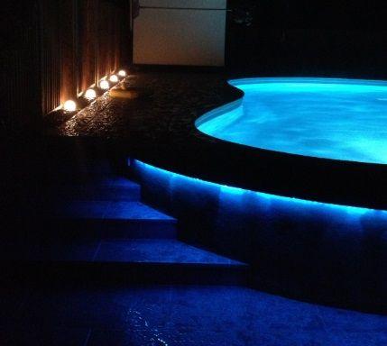 oświetlenie led do basenu - jak zrobic