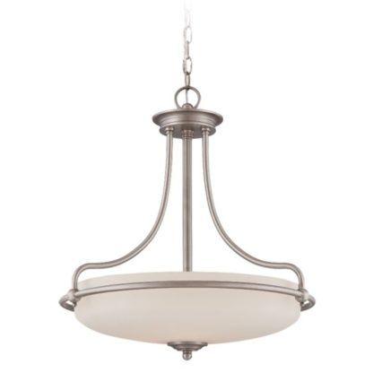 klasyczna lampa wisząca szklany klosz