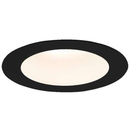 Nowoczesne oczko podtynkowe Tottori LED - czarne