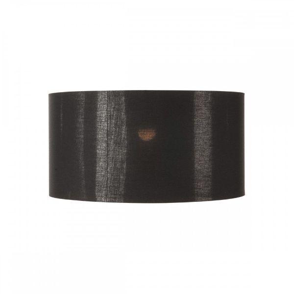 Czarny abażur Fenda - miedziany środek, 70cm