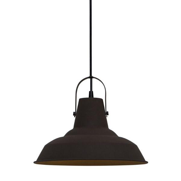 lampa wisząca vintage metalowa