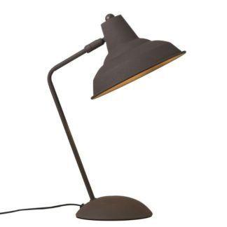 Industrialna lampa biurkowa Andy - Nordlux - brązowa
