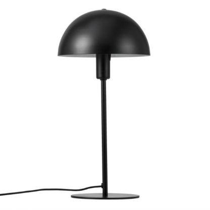 nowoczesna lampa stołowa czarna