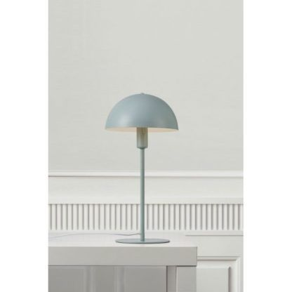 metalowa lampa stołowa