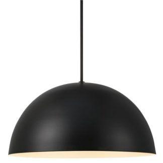Czarna lampa wisząca Ellen - Nordlux - półkula