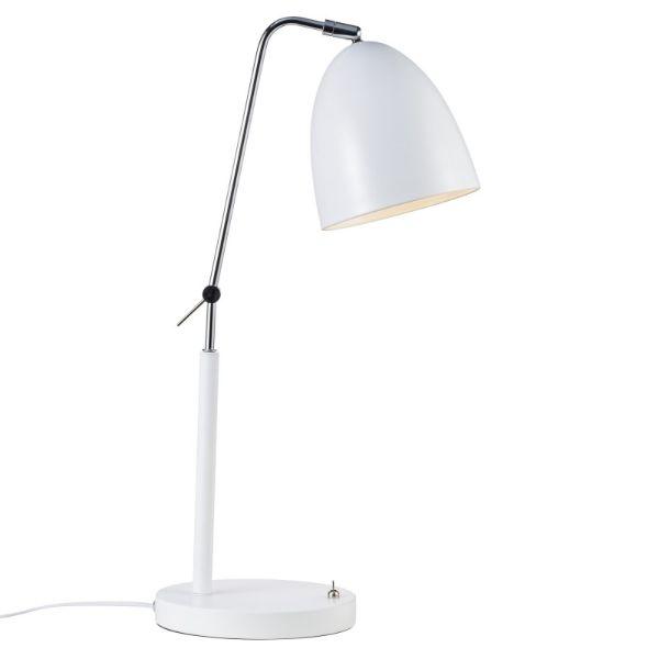 nowoczesna lampa biurkowa metalowa