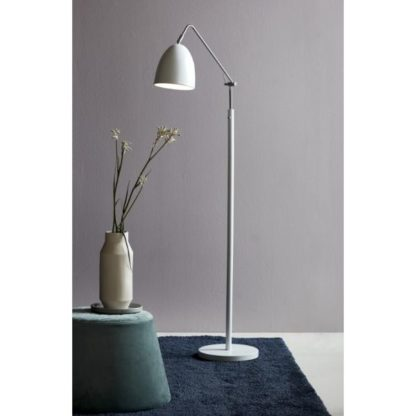 Lampa podłogowa Alexander - Nordlux - biały klosz
