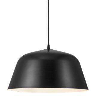 Duża lampa wisząca Ella - Nordlux - czarna