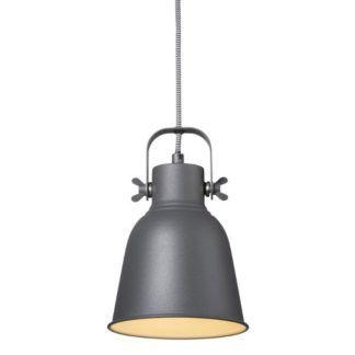 Industrialna lampa wisząca Adrian - Nordlux - czarna