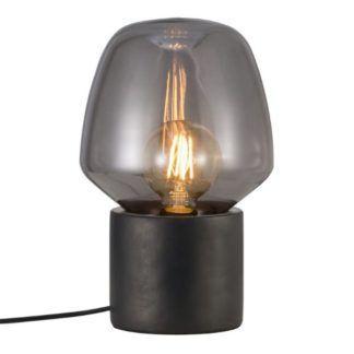 Oryginalna lampa stołowa Chistina - Nordlux - szara