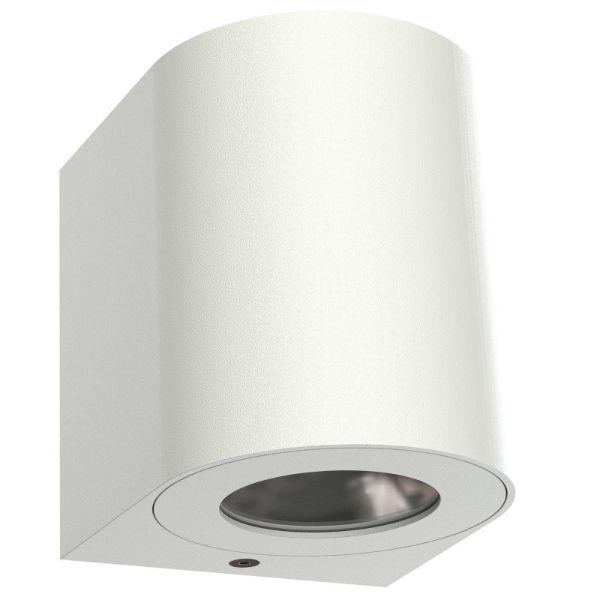 białe oświetlenie na elewację
