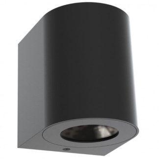 Czarny kinkiet Canto - Nordlux - LED, IP44