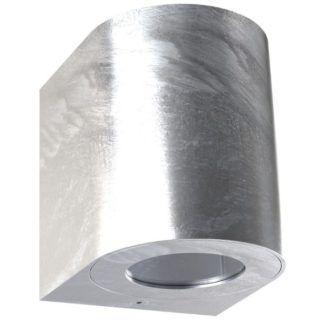Srebrny kinkiet zewnętrzny Canto - Nordlux, LED, IP44, ocynk
