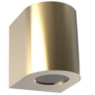 Złoty kinkiet zewnętrzny Canto - Nordlux - LED, IP44