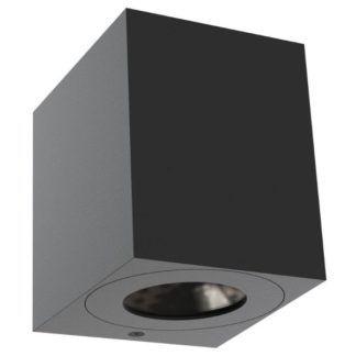 Czarny kinkiet Canto Kubi - Nordlux - IP44, LED