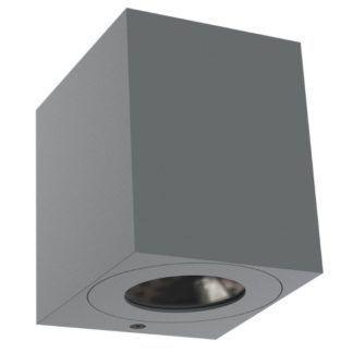 Szary kinkiet Canto Kubi - Nordlux - IP44, LED