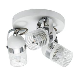 Biała lampa sufitowa Agnes - Nordlux - 3 reflektory