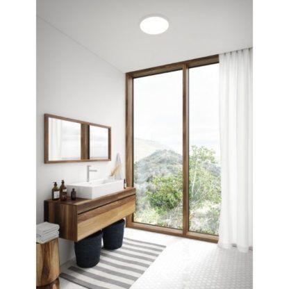 nowoczesny plafon do łazienki aranżacja